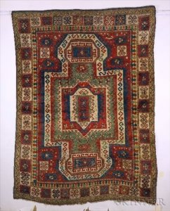 Sold for: $38,188 - Sewan Kazak Rug