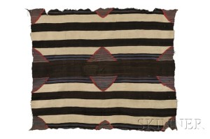 Sold for: $213,300 - Navajo Third Phase Chief's Blanket