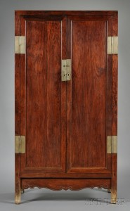 Sold for: $292,000 - Huanghuali Cabinet