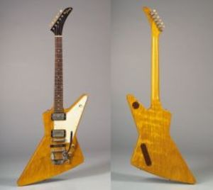 Sold for: $611,000 - American Electric Guitar, Gibson Incorporated, Kalamazoo, 1958/63, Model Explorer