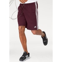 adidas Performance Shorts »ESSENTIALS 3S FRENCH TERRY SHORT«, rot, bordeaux