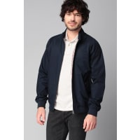 Ben Sherman Jacken - bemf10376 cotton harrington - Blau / Marine
