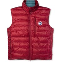 Canada Goose Lodge Packaway Quilted Shell Down Gilet - Red