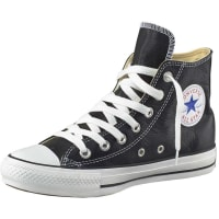 Converse All Star Basic Leather Sneaker schwarz