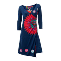 Desigual Shirtkleid, Damen, blau