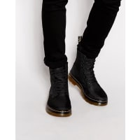 Dr. Martens Tract Fold - Stiefel - Schwarz