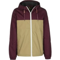 Element Alder Winterjacke canyon khaki/napa red