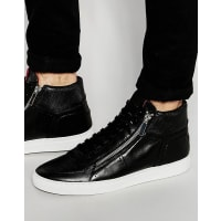 HUGO BOSS By Hugo Boss - Futuzip - Hohe Sneakers - Schwarz