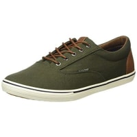 Jack & Jones Mens JFWVISION MIXED SNEAKER FOREST NIGHT Low-Top Sneakers