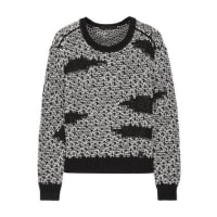 Karl Lagerfeld Mae Chunky-knit Sweater - Black