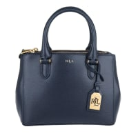 Lauren Ralph Lauren Henkeltaschen - Mini Double Zipper Satchel Navy - in blau für Damen