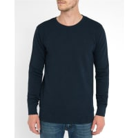 Minimum Marineblaues Rundhals-Sweatshirt Alistair Pr
