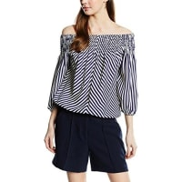 Morgan Damen Bluse, Gestreift