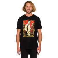 Obey Joe Strummer Foundation T-Shirt black / zwart