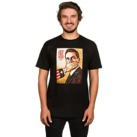 Obey Pay Up Or Shut Up! T-Shirt black / zwart