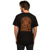 Obey Quality Dissent T-Shirt black / zwart