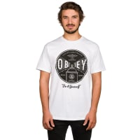 Obey Under Pressure T-Shirt white / wit