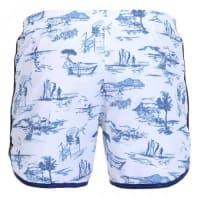 Robinson Les Bains long printed boardshorts with elastic waist