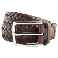 Saddler Leather Belt Men Brown