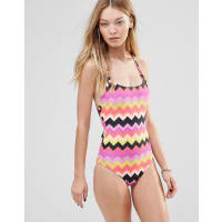 Seafolly Soundwave Zig Zag Swimsuit
