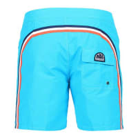 Sundek fixed waistband long board shorts