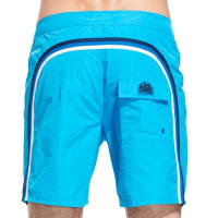 Sundek fixed waistband long swim shorts