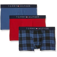 Tommy Hilfiger Herren Boxershorts Icon Trunk 3 Pack Check
