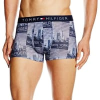 Tommy Hilfiger Herren Boxershorts Icon Trunk New York Photo