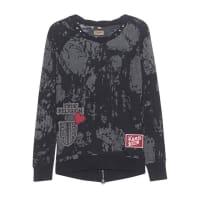 True Religion Sweater Patches Black