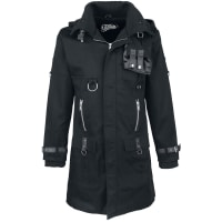 Vixxsin Eclusion Coat Mantel schwarz