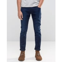 Wrangler Bryson - Enge Jeans in Ghost Buster - Marineblau