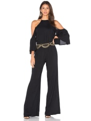De Lacy Lilly Jumpsuit in Black