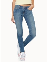 Levi's 711 faded jean