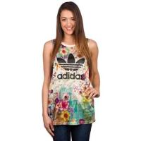 adidas Originals Confete Loose Trefoil Tank Top multicolor / muster