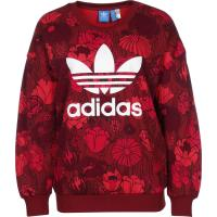 adidas Trefoil W Sweater rust red