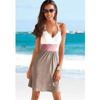Beach Time Strandkleid, Beachtime taupe/creme