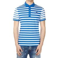 Burberry Striped Jersey Cotton Polo Shirt Frühling/Sommer