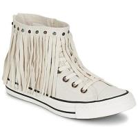 Converse CHUCK TAYLOR ALL STAR FRINGE ACID WASH DENIM HI