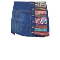 Desigual MANUEL Jeansrock denim electric blue