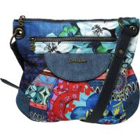 Desigual Umhängetasche Brooklyn Culture Club blau
