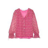 Seidenblusen in Pink: Shoppe jetzt bis zu −72%