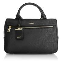 DKNY Dkny Tasche - Tribeca Soft Tumble Leather Tote Black - in schwarz - Henkeltasche für Damen
