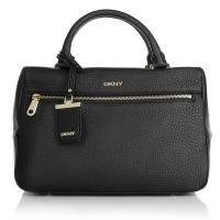 DKNY Dkny Henkeltaschen - Tribeca Soft Tumble Leather Tote Black - in schwarz für Damen