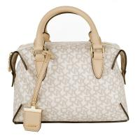 DKNY Dkny Henkeltaschen - Heritage Coated Logo Bowling Bag Hemp-Buff Small - in beige für Damen