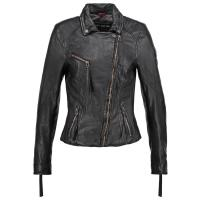 Freaky Nation CELEBRATION Lederjacke black