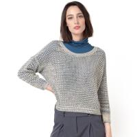 French Connection Pullover, Ajour-Strick
