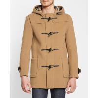 Gloverall Mid-length dark beige duffle coatGLOVERALL - Mid-length dark beige duffle coat