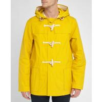 Gloverall Yellow Hooded Waterproof Duffle CoatGLOVERALL - Yellow Hooded Waterproof Duffle Coat