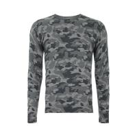 Guess Strickpullover mit Camouflagemuster
