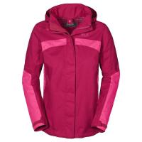 Jack Wolfskin Outdoorjacke »TOPAZ II JACKET WOMEN«, rot, azalea red